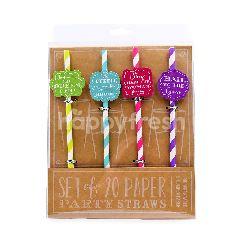 MINNA Party Paper Straws(20 Pieces)