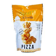 Ppuff! Krakers Beras Mini Rasa Pizza Bebas Gluten