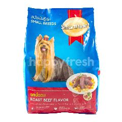 Smartheart Makanan Anjing Small Breeds Rasa Daging Panggang