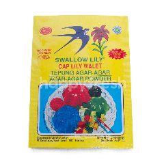 Swallow Globe Brand Lily Bubuk Agar-Agar