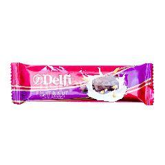 Delfi Cokelat dengan Buah dan Kacang