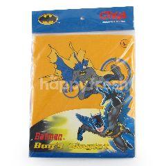 GT Man Kids Singlet Edisi Batman L Kuning