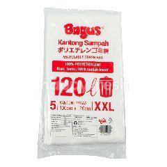Bagus Kantong Sampah Daur Ulang Ukuran XXL 120 L