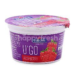 Emborg U'Go Raspberry Yogurt 100G