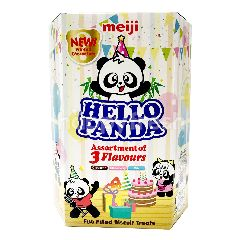 Meiji Hello Panda Assortment Biscuits