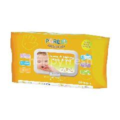 PUREBB Tisu Basah untuk Tangan & Mulut Bayi Ekstrak Minyak Jeruk