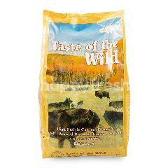 Taste of The Wild Makanan Anjing High Prairie Canine Formula Daging Bison dan Rusa Panggang