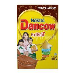 Dancow Fortigro Excelnutri Susu Bubuk Instan Rasa Cokelat