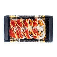 Aeon Sushi Ebikatsu Pedas