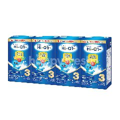 ไฮ-คิว 3 พลัส พรีไบโอโพรเทก 3 นมยูเอชที รสจืด 110 มล. (แพ็ค 4)