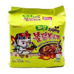 Samyang Spicy Chicken Jjajang Instant Noodles (5x140G)