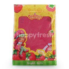 GT man Kids Strawberry Shortcake Kaos Singlet Anak Perempuan Ukuran M