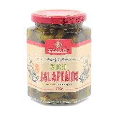 SANDHURST Sliced Jalapenos - Medium Spicy