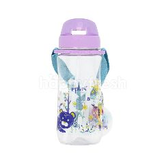Eplas Kids Water Bottle With Straw And Strap (580Ml)