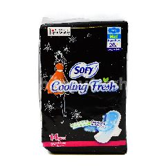 Sofy 26cm Cooling Fresh Pads (14 Pieces)