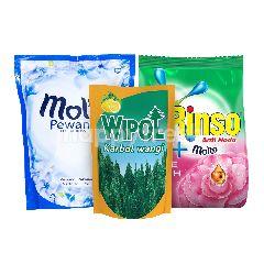 Unilever Rinso, Molto, Vixal Paket Rumah Bersih