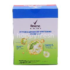 Rexona Advanced Whitening Lily Fresh Twin Pack Roll On Deodorant 2 x 50ml