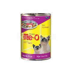 มีโอ อาหารแมวแบบกระป๋อง รสซีฟู้ด 400 กรัม