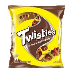 Twisties Kaboom BBQ Curry Multipack Snack (15gx8s)
