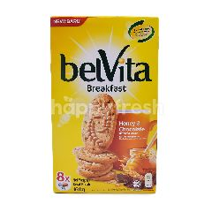 Belvita Breakfast Honey And Chocolate Flavoured Biscuit (8 Pieces)