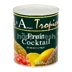 A&A Tropical Fruit Cocktail In Heavy Syrup