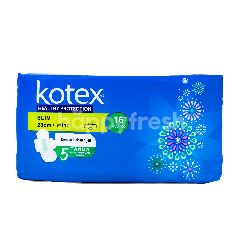 Kotex Soft and Smooth Slim 16S Wing