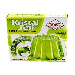 NONA Jelly Crystal Powder Green Apple Flavour