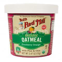 บ๊อบส เรด มิลล์ บ๊อบส์ เร้ด มิลล์ โอ๊ตมีล ชนิดถ้วย ผสมแครนเบอร์รี่และส้ม ไร้กลูเตน 71 กรัม