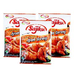 Sajiku Traditional Fried Chicken Seasoning Triplepack (25g x 3)