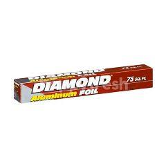 Diamond Diamond Alumunium Foil 75 Sq.Ft.