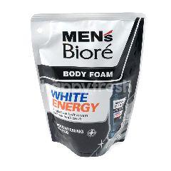 Biore Men's Body Foam White Energy
