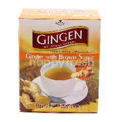 Gingen Ginger With Brown Sugar Instant Drink Powder (10 Pieces)