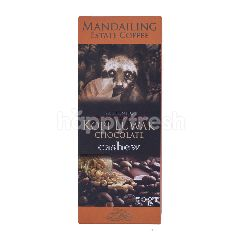 Mandailing Estate Coffee Cokelat Kopi Luwak dengan Kacang Mede