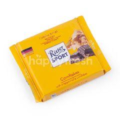 Ritter Sport Cokelat dengan Kepingan Jagung