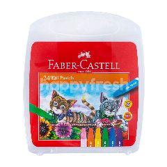 Faber-Castell Krayon Pastel Minyak 24 Warna