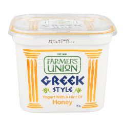 Farmers Union Greek Style Yogurt Honey