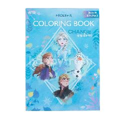 Buku Mewarnai Frozen