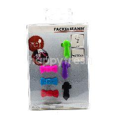 Fackelmann Silicone Glass Markers