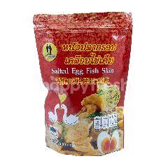 เวรี่ไทย หนังปลากรอบเคลือบไข่เค็ม