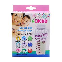 OKBB Breast Milk Storage Bags (20 Pieces)