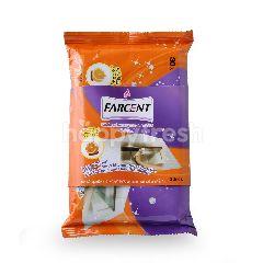 Farcent Kitchen Decontaminate Tissue Valencia Orange Oil