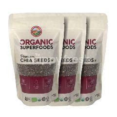 Country Farm Organics Chia Seeds 3x300G (Buy2 Free1)