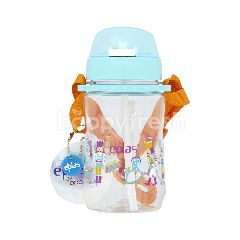 Eplas Blue Colour Kid Water Bottle With Straw