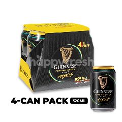 Guinness Stout Beer Cans 4x320ml