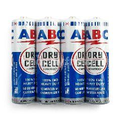 ABC Baterai R6 Biru 1,5V