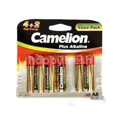 Camelion Alkaline Batteries AA (6 Pieces)