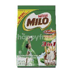 Milo Minuman Serbuk Cokelat dengan Susu 3in1