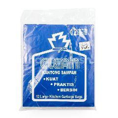 Clean Kantong Sampah Putih Besar 66cm x 85cm