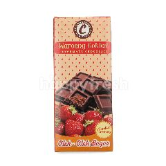 Waroeng Coklat Chocolate Strawberry Bar