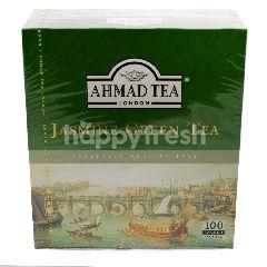 Ahmad Tea London Jasmine Green Tea (100 Tea Bags)